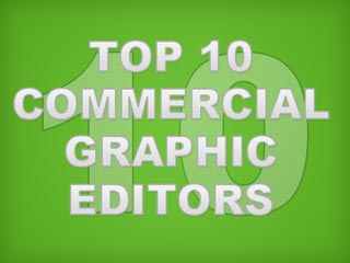 Top 10 Commerical Graphic Editors Green