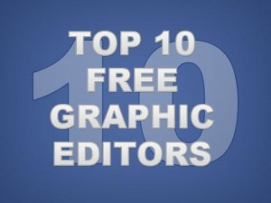 Free Graphic Editors - A Top 10 List