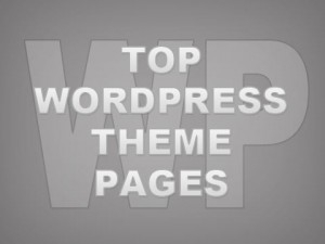 Top 10 WordPress Theme Pages