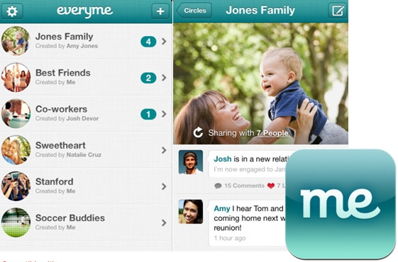Everyme Social App-Privacy Policy