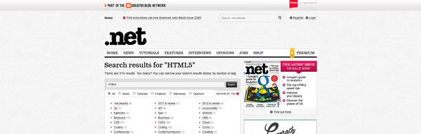 HTML5 .Net