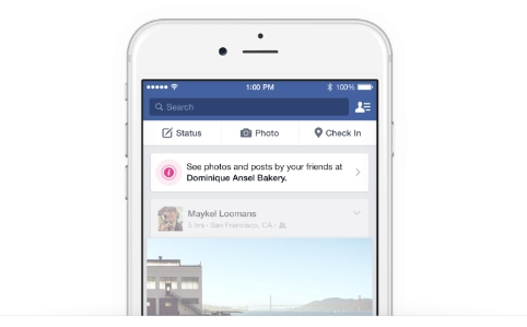 Place Tips in Facebook News Feed