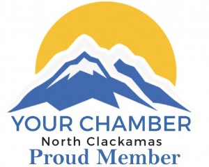 North Clackamas Chamber of Commerce - Proud Member Logo
